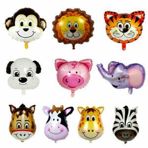 Jungle-Animal-Zoo-Safari-Foil-Air-Helium-Balloon-Kid-039-s-Birthday-Party-Decoration