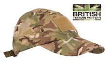 Nos británicos Militar Ejército De La Selva Boonie Sol Bush Sombrero Gorra de béisbol Btp Multi Camo