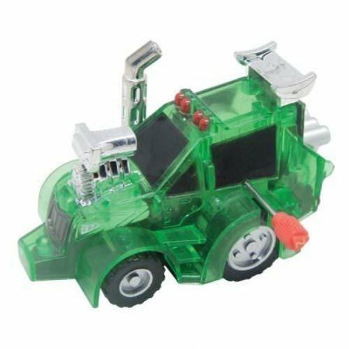 Toys Tex Tractor Green Kids Game New 70134 Mini - Z Wind Ups
