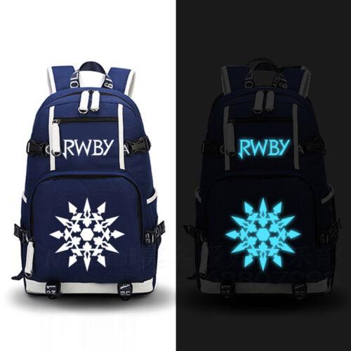 RWBY Luminous Backpack Schoolbag Laptop Noctilucence Bag