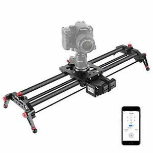 Neewer camera electric slider 31.5 inches APP control carbon fiber track dolly