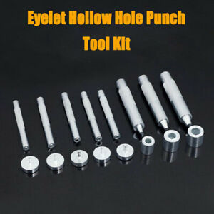 Setter-Occhiello-Tool-amp-Anvil-Punzone-libera-occhielli-con-rondella-Leather-Craft