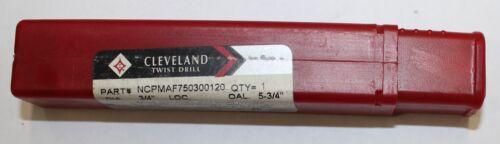 3 FL CC PM+ EM FOR ALUM End Mill 3//4 CLEVELAND L539-PM Plus LOC:3