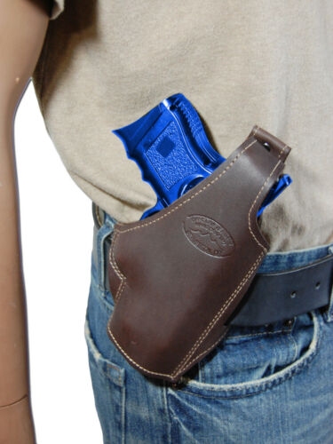 New Barsony Brown Leather Pancake Gun Holster for Sig-Sauer Compact 9mm 40 45