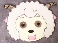 Metal Belt Buckle cartoon children Horned Lamb NEW