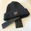 Antony Morato Mens Dark Grey Beanie Hat BNWT OSFA Anthony Shield Sku Cap RRP £25