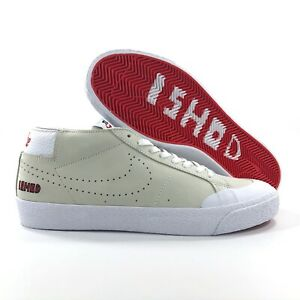 differently 73aac c2e92 Nike SB Zoom Blazer Chukka XT QS Ishod Wair White Red AR5410 ...