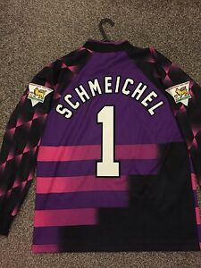 cae93ad1a Image is loading MANCHESTER-UNITED-VINTAGE-1996-97-GOALKEEPER-SHIRT-ADULTS-