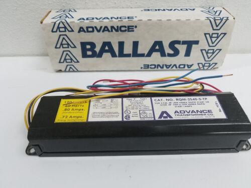 ADVANCE RQM-2S40-TP-WS 2-40T12RS BALLAST IN BOX 2 LIGHT 40 WATT RAPID START
