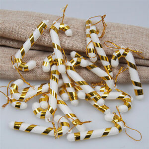 10-Pcs-Bonbons-Canne-Ornements-Decoration-de-Sapin-de-Noel-Festival-Decorations