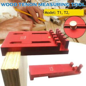 Woodworking Depth Measuring Ruler Line Sawtooth Ruler Marking Gap Gauge Tool
