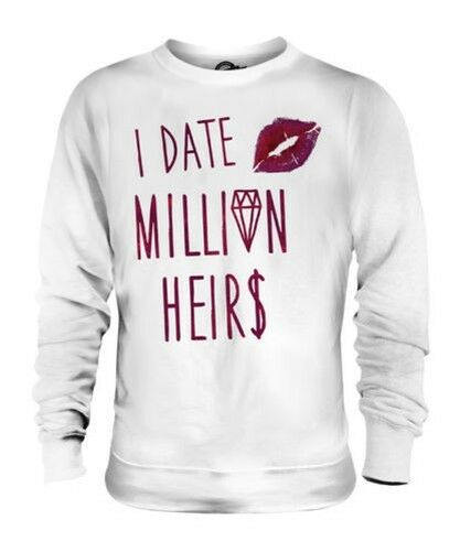 I Cita Millones Heirs Unisex Divertido Swag Jersey Hombre Mujer Swag Hipster