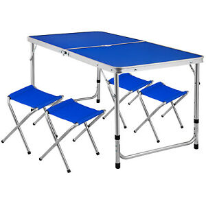 Folding-Camping-Table-Portable-Picnic-Outdoor-Garden-BBQ-Height-Adjustable