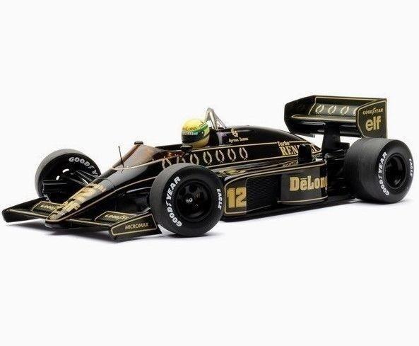 1 43 Minichamps 1986 Lotus Renault 98T   12 Ayrton Senna 540864312