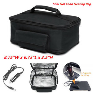 Electric Lunch Box Food Heater Portable Meal Warmer Bag For 12v Car