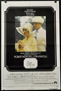 THE-GREAT-GATSBY-1974-ORIGINAL-27X41-MOVIE-POSTER-ROBERT-REDFORD-MIA-FARROW