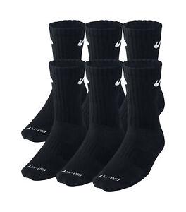 jeu images footlocker Nike Dri-fit Chaussettes De L'équipage Pour Hommes Rembourrées - 6 Paires Boucles propre et classique 5Bbyw