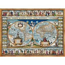 Castorland Jigsaw 2000pc - Map Of The World, 1639