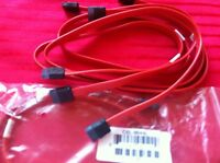 Lot 6 Pcs Sata3 Sata Iii 6gb/s Data Drive Cable-red For Asus X79 X99 Z170