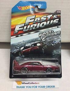 /'69 Dodge Charger Daytona Fast /& Furious 6 Hot Wheels E8