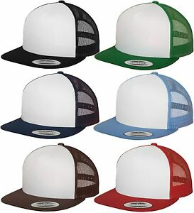 Flexfit-Yupoong-Classic-Trucker-Cap-Mesh-Snapback-2-tone-NEW-Cappuccio-Urban-era