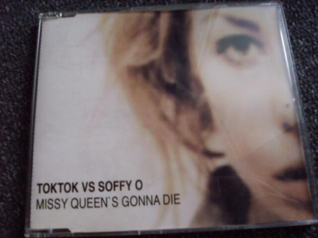 TokTok vs Soffy O-Missy Queen´s Gonna Die-Maxi CD-GERM