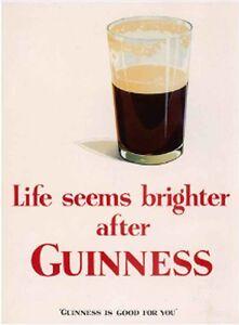 Aimant De Frigo Life Seems Brighter after Guinness (se) aLtqM5Sg-09161059-651938782