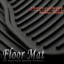Fit Honda All Weather Front Rear Rubber Carpet Liner 4pcs Waterproof Floor Mats Fits 2003 Honda Pilot