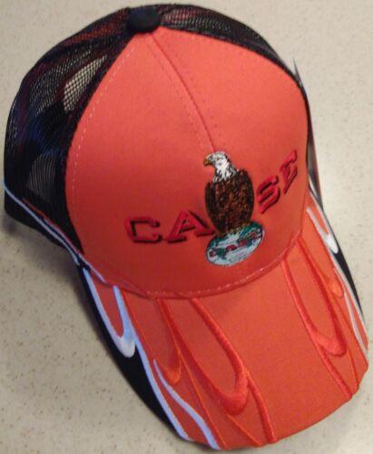 Case Eagle Embroidered Wave Design Mesh Hat 2 types