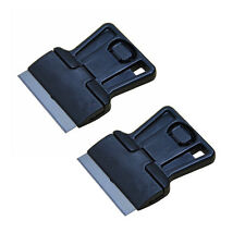 2 Mini Hand Scraper Single Edge Blade Removal Tools fo Window Tint Oven Clean US