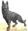Large-22cm-German-Shepherd-bronze-effect-ornament-figurine-Alsatian-lover-gift thumbnail 5