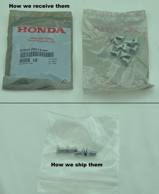 Flat Head Screw Brake Disc Screw 6x14 Honda all Models