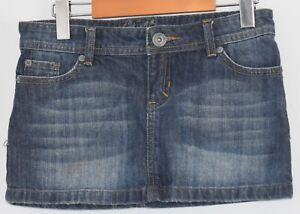 551a75de0bbfc Image is loading Garage-Denim-Jean-Mini-Skirt-Womens-Size-3-