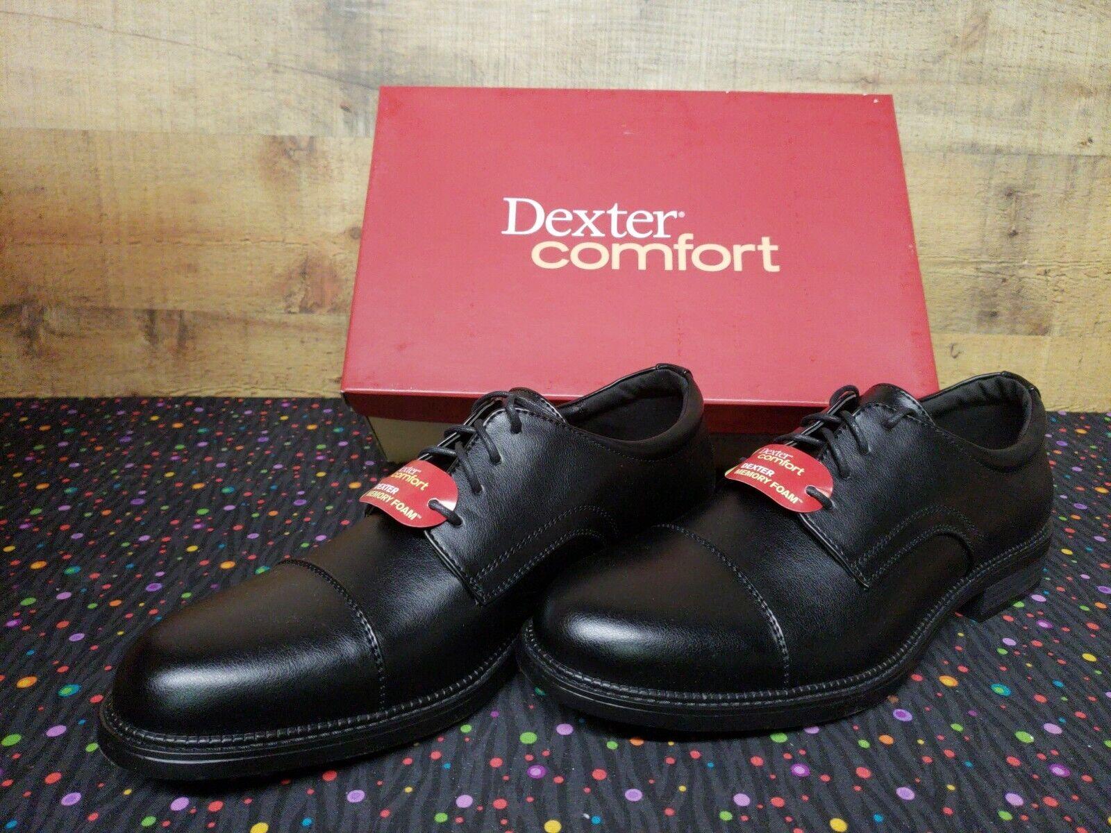 Dexter Comfort 159159 Archer Captoe Oxford Dress Mens shoes Size 12 New w Box