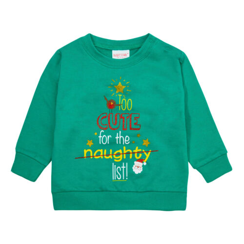 Baby Xmas Tops Cute Long Sleeve Festive Jumper Sweatshirt Novelty Christmas Gift