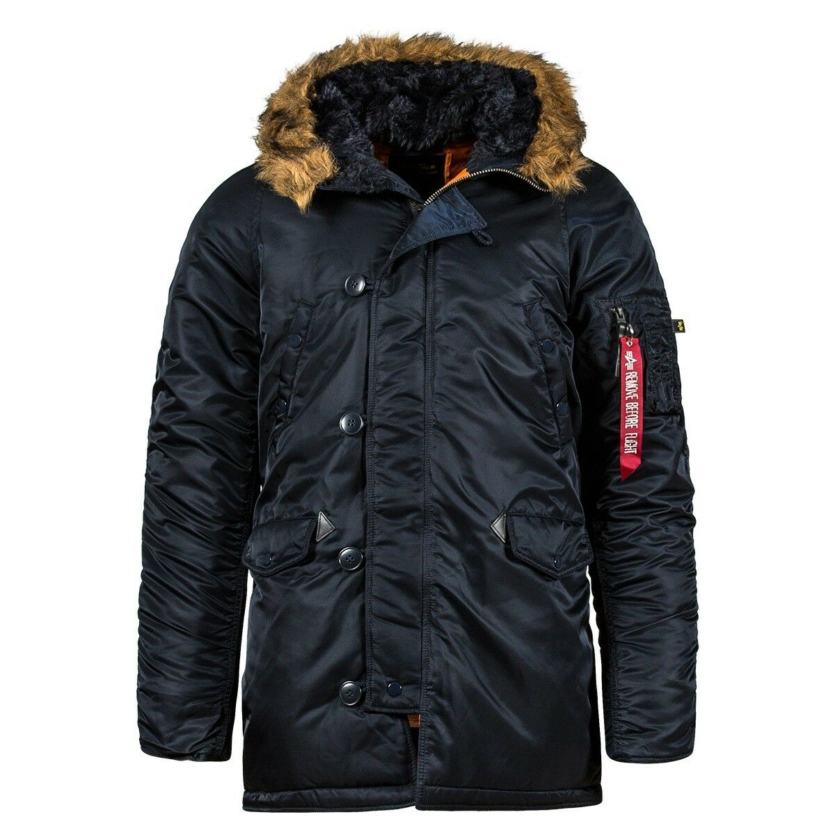 Alpha Industries Slim Fit N-3B Parka Cold Weather Coat Nylon N3B  MJN31210C1