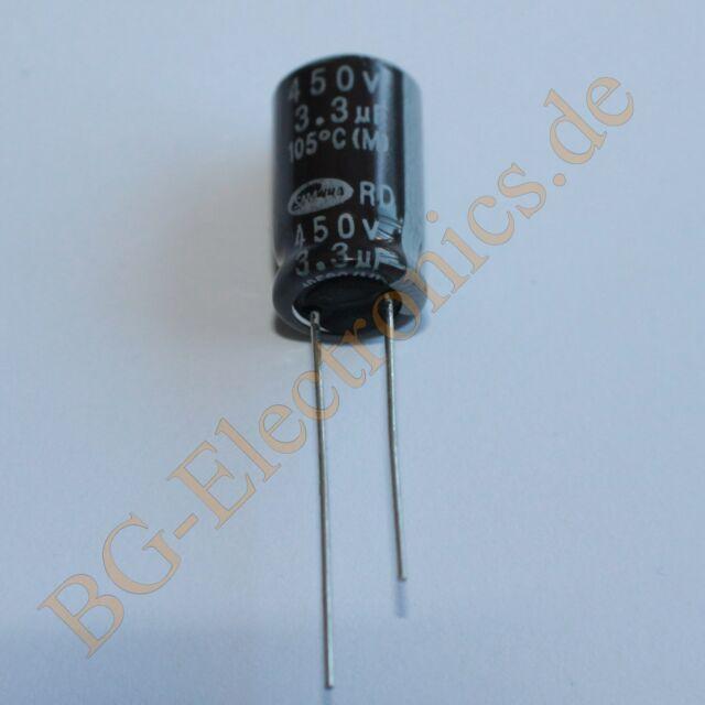 50 x 100µF 100uF 25V 105° RM2.5 Elko Kondensator Capacitor R Nippon Ch  50pcs