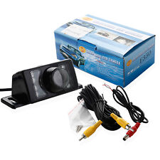 Car Rear View Reversing Camera Reverse Backup Night Vision 7LED IR Waterproof UK