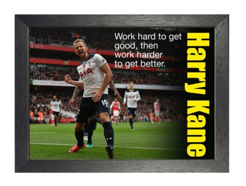 11 Harry Kane English Football Player Poster Sport Star Photo Motivation Quote