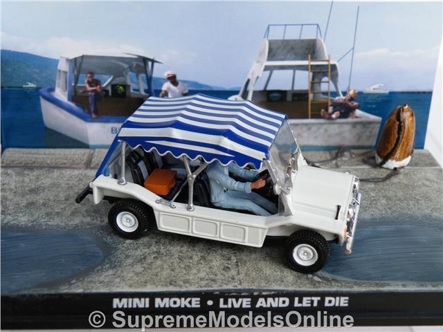 AUSTIN MINI MOKE MODEL CAR CAR CAR JAMES BOND LIVE AND LET DIE 1 43 SCALE COLLECTION K8 dc1eb7
