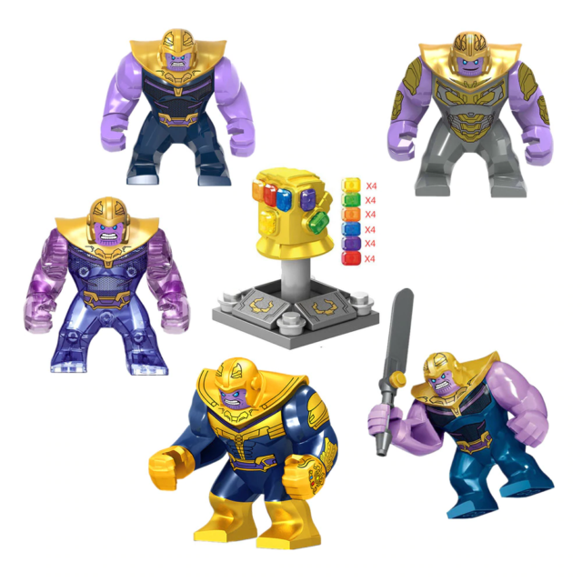 Infinity Gauntlet for Thanos infinity War Lego Minifigure Toys