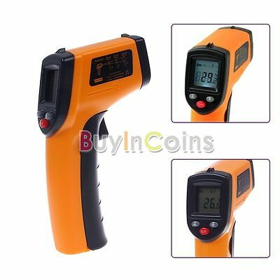 Non-Contact LCD Laser Infrared Digital Temperature Thermometer Gun GM320 Device
