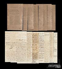 1841 Cuba 15pgs ~ REAL SOCIEDAD ECONOMICA Commerce with England United Kingdom