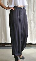 Harem Style Pant W/embroidery Detail By One Teaspoon (london Boys), Charcoal