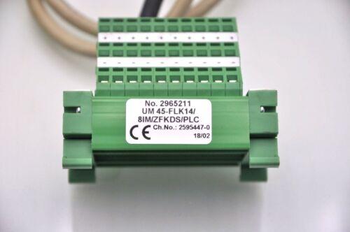 Phoenix Contact UM 45-FLK14//8IM//ZFKDS Breakout Board Lot of 4