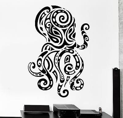 Octopus Under The Sea Wall Sticker WS-32520