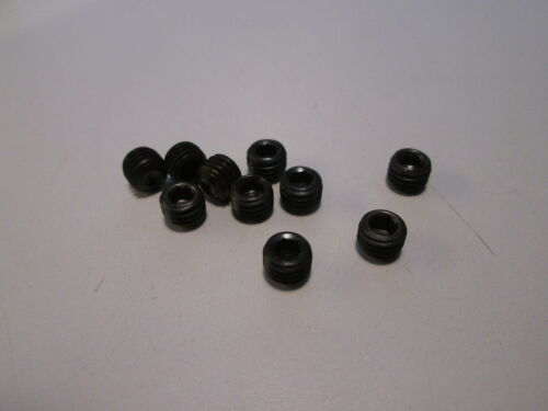 """1//4-28 X 3//16/"""" SOCKET SET SCREW CUP POINT LOT OF 10"""