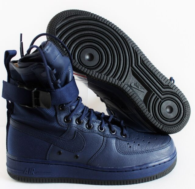 WMNS Nike SF Af1 Special Field Binary Blue Women Shoes Air Force 1 ... e8692e3382