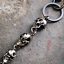 Cool-Gothic-Black-Metal-Wallet-Jeans-Chains-Men-Thick-Skulls-Biker-Trucker-Chain thumbnail 4