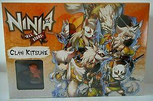 NINJA All Stars figurines Clan Kitsune jeu de société plateau rôle cartes Edge